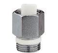 Caleffi обратный клапан для воздухоотводчика хромированный 1/2`
