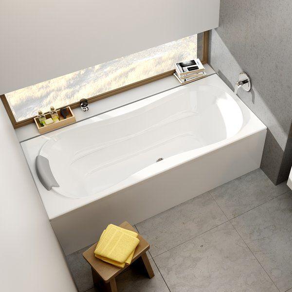 Акриловая ванна Ravak Campanula II 180x80