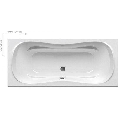 Акриловая ванна Ravak Campanula II 170x75 цена