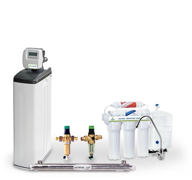 Готовое решение для очистки воды Ecosoft Ecocomfort 2