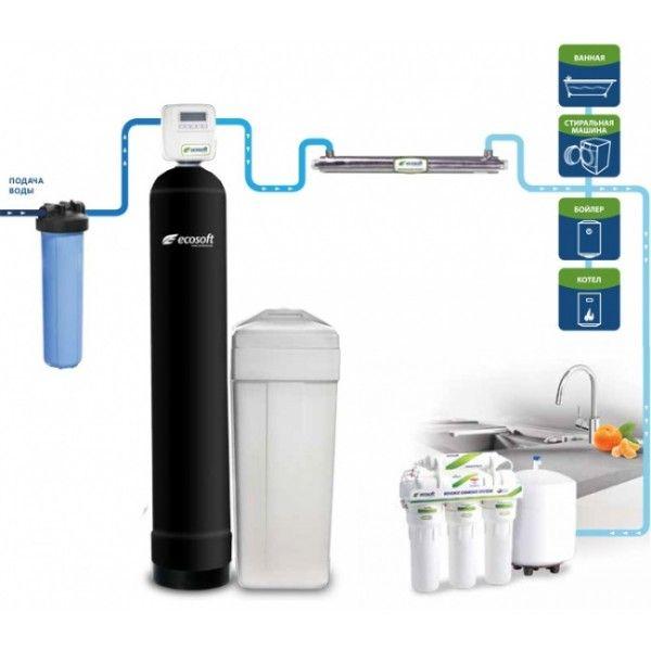 Готовое решение для очистки воды Ecosoft Ecosmart 4