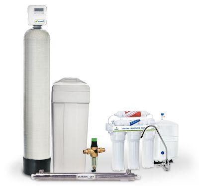 Готовое решение для очистки воды Ecosoft Ecosmart 4 цены
