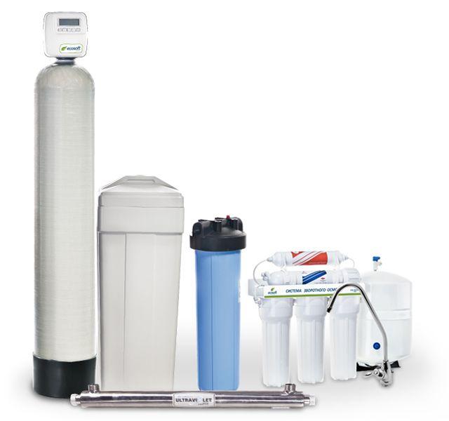 Готовое решение для очистки воды Ecosoft Ecosmart ZM 3