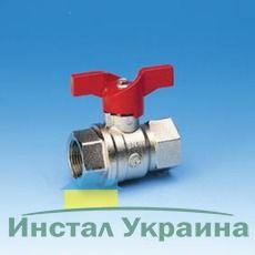 Шаровой кран Pettinaroli для воды ВВ мотылек 3/4`