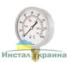 Cewal Манометр глицериновый Д63 1/4 R 16 бар вертикальный