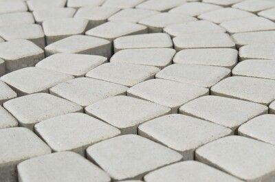 Тротуарная плитка Старая площадь 300х300 (белый) для пешеходной зоны (4 см) цена