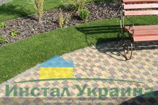 Тротуарная плитка Креатив (горчичный) (6 см)