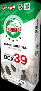 Anserglob ВСХ-39 Клеевая смесь для пенополистирола и минеральной ваты цены