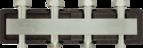 купить Коллектор для трех насосных групп c встроенным гидравлическим разделителем AFRISO KSV 125-3 HW (77622)