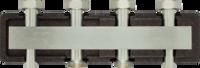 Коллектор для двух насосных групп c встроенным гидравлическим разделителем AFRISO KSV 125-2 HW (77621)