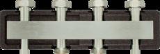 Коллектор для трех насосных групп без разделителя AFRISO KSV 125-3 (77609)
