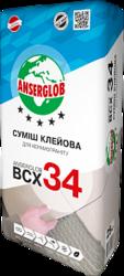 купить Anserglob ВСХ-34 Клеевая смесь для керамогранита