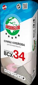Anserglob ВСХ-34 Клеевая смесь для керамогранита цены