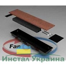 FanCOil внутрипольный конвектор FC 12 Plus длина 2750мм