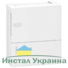 Schneider electric Щит навесной MINI PRAGMA 1 ряд 8 модулей белые двери (MIP12108)