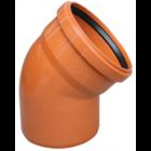 купить Valrom Колено ПВХ 110/67 для наружной канализации