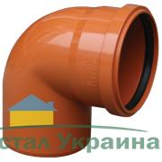 Valrom Колено ПВХ 250/90 для наружной канализации