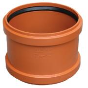 Valrom Муфта ПВХ 250 для наружной канализации