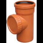 купить Valrom Ревизия ПВХ 110 для наружной канализации
