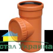 Valrom Ревизия ПВХ 110 для наружной канализации