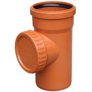 Valrom Ревизия ПВХ 200 для наружной канализации