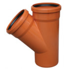 купить Valrom Тройник ПВХ 110*110/87 для наружной канализации