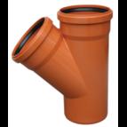 купить Valrom Тройник ПВХ 400*400/90 для наружной канализации