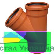 Valrom Тройник ПВХ 250*200/90 для наружной канализации