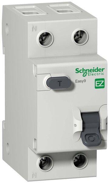 """Schneider electric Дифференциальный автоматический выключатель EZ9 1Р+N/32А/30мА/ТИП """"АС"""" (EZ9D34632)"""