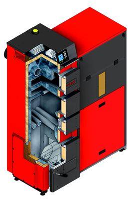 Твердотопливный пеллетный котел Defro DUO EKOPELL 50 кВт цены