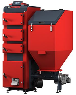 Твердотопливный котел Defro DUO 25 кВт