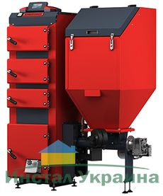 Твердотопливный пеллетный котел Defro DUO UNI 25 кВт