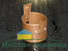 HyPro Крепленние трубы под шуруп Матовая поверхность 8004 Терракотовый