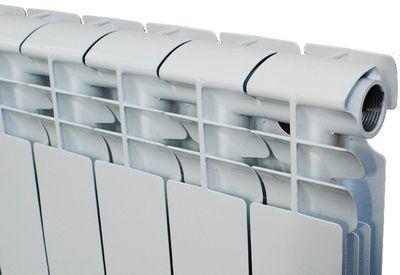 Радиатор алюминиевый Dicalore Standart plus 350 цена