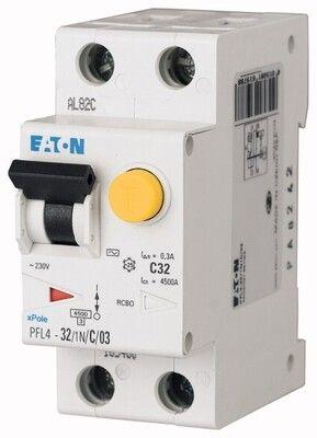 Eaton Дифференциальный автоматический выключатель PFL6-20/1N/C/0,03 (286468) цены