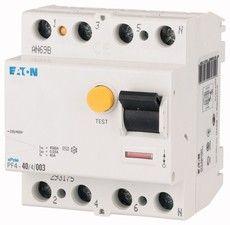 Eaton Дифференциальный выключатель напряжения PF4-40/4/0,3 (293176)