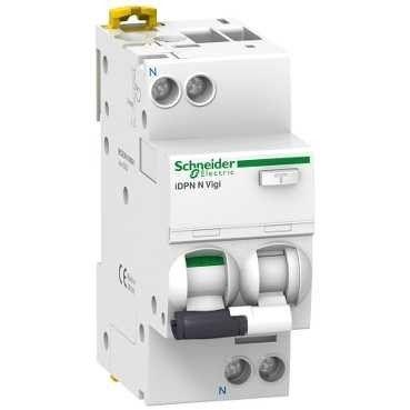 Schneider electric Дифференциальный автоматический выключатель iDPN N VIGI 6KA 16A C 30MA (A9D31616) цена