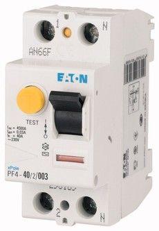Eaton Дифференциальный выключатель напряжения PF4-40/2/0,03 (293169)