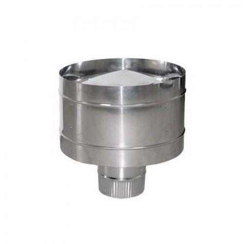 ОКОНЧАНИЯ (Волпер, Искрогаситель) из нержавеющей стали (AISI 304) ф160