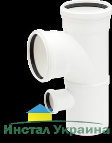 Rehau для внутр. канализации Двойной односторонний тройник RAUPIANO PLUS 90/90/50 87°