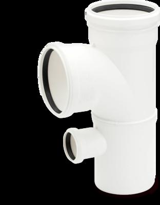 Rehau для внутр. канализации Двойной односторонний тройник RAUPIANO PLUS 110/110/50 87° цена
