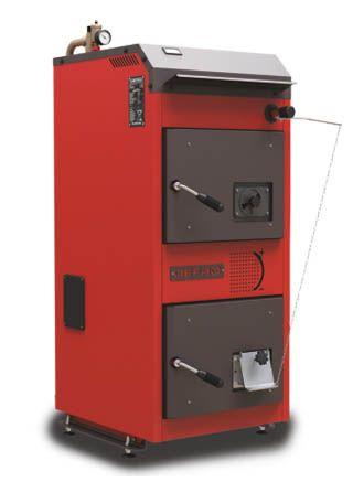 Пиролизный котел Defro DS 32 кВт