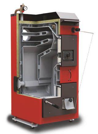 Твердотопливный пиролизный котел Defro DS 20 кВт