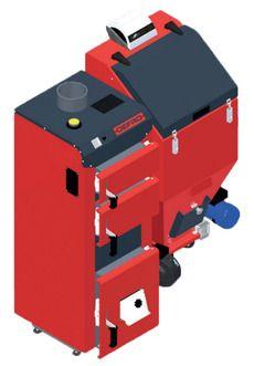 Твердотопливный котел Defro DUO MINI 22 кВт