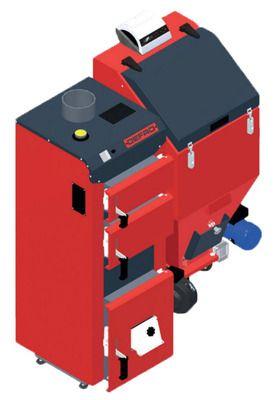 Твердотопливный котел Defro DUO MINI 30 кВт цены