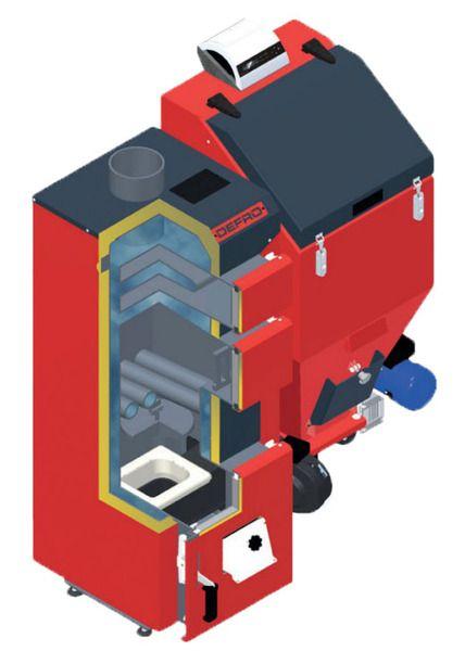 Твердотопливный котел Defro DUO MINI 17 кВт