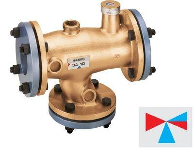 Caleffi смеситель-термостат фланцевый DN65 (524060) цена