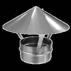 ОКОНЧАНИЯ (Зонт) из нержавеющей стали (AISI 304) ф150