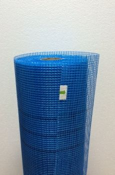 Masterplast Сетка фасадная синяя 5х5 160 г/кв.м. цена