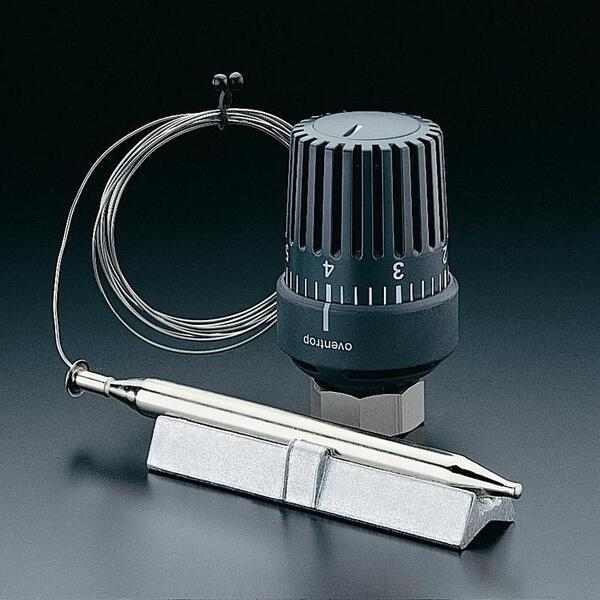 Терморегулятор с накл.датчиком 20-50 C, капил.труба 2м,с теплопровод.штокомOventrop, 1142861